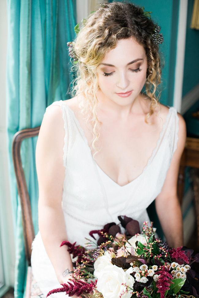 Boho floral wedding editorial, photography by Jenny Heyworth for Aspire Photography Training (24)