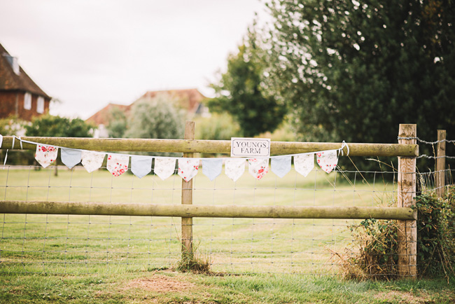 Pretty signage and a subtle Game of Thrones theme for Rosie and Allan's Canterbury wedding. Lucie Watson Photography (11)