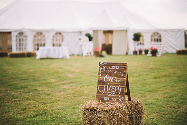 Pretty signage and a subtle Game of Thrones theme for Rosie and Allan's Canterbury wedding. Lucie Watson Photography (12)