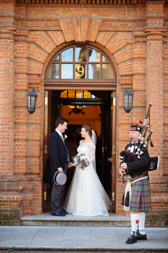 Gorgeous Scottish wedding ideas from London's Caledonian Club, with Ben Pipe Photography (24)