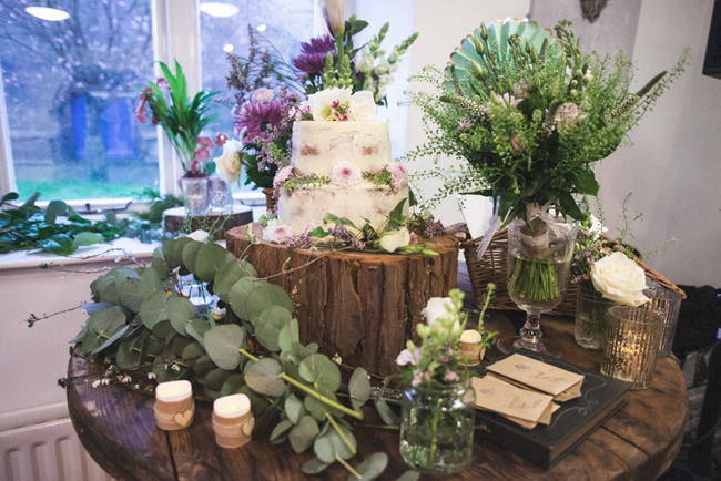 The prettiest cake for a DIY wedding in Lancashire with Robbie Venn Photography (17)