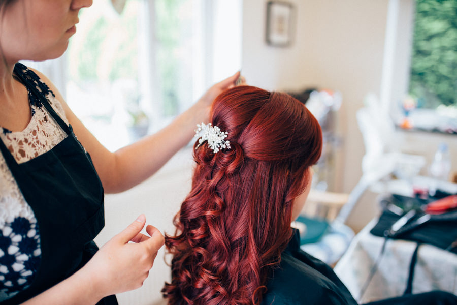 A stunning wedding in Hastings with a gorgeous redhead bride, images by Nikki van der Molen (3)