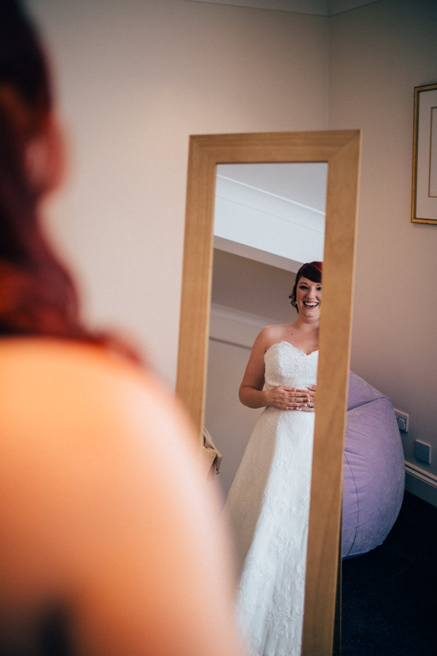 A stunning wedding in Hastings with a gorgeous redhead bride, images by Nikki van der Molen (4)