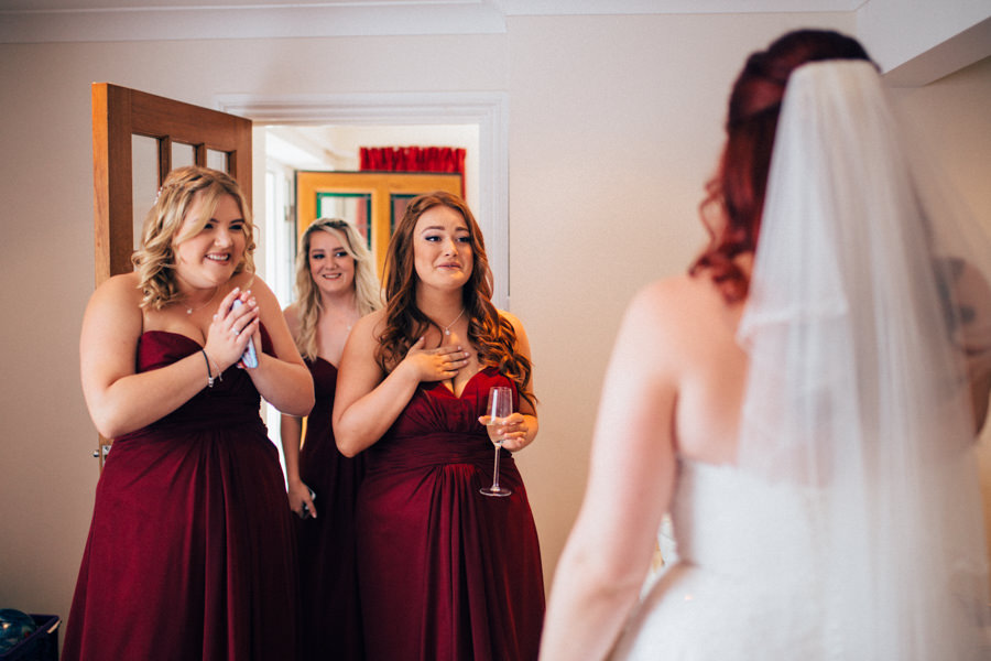 A stunning wedding in Hastings with a gorgeous redhead bride, images by Nikki van der Molen (6)