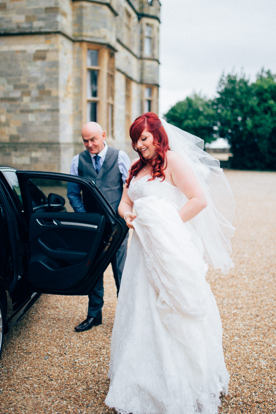 A stunning wedding in Hastings with a gorgeous redhead bride, images by Nikki van der Molen (19)