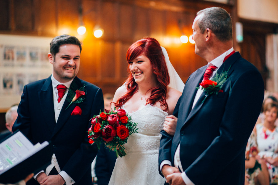 A stunning wedding in Hastings with a gorgeous redhead bride, images by Nikki van der Molen (23)