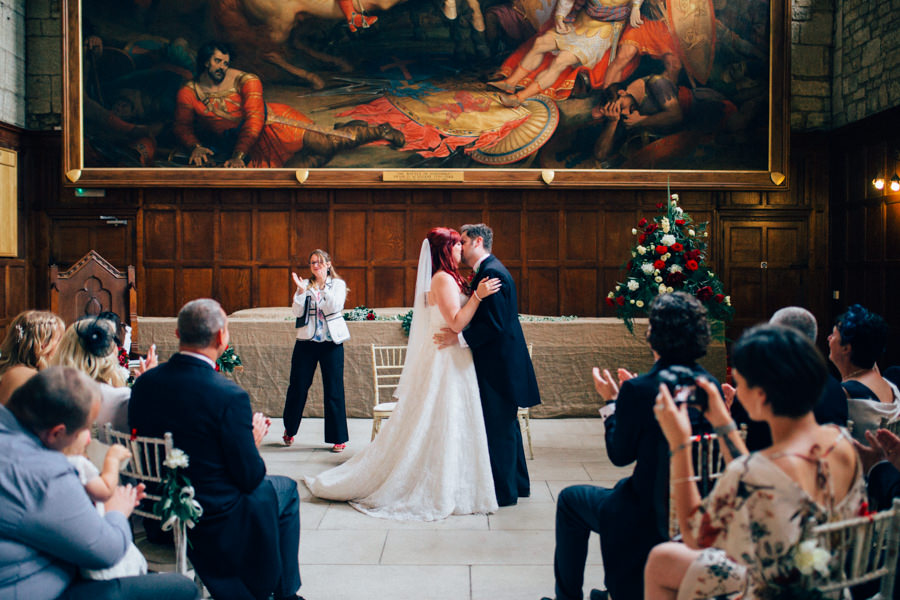 A stunning wedding in Hastings with a gorgeous redhead bride, images by Nikki van der Molen (24)