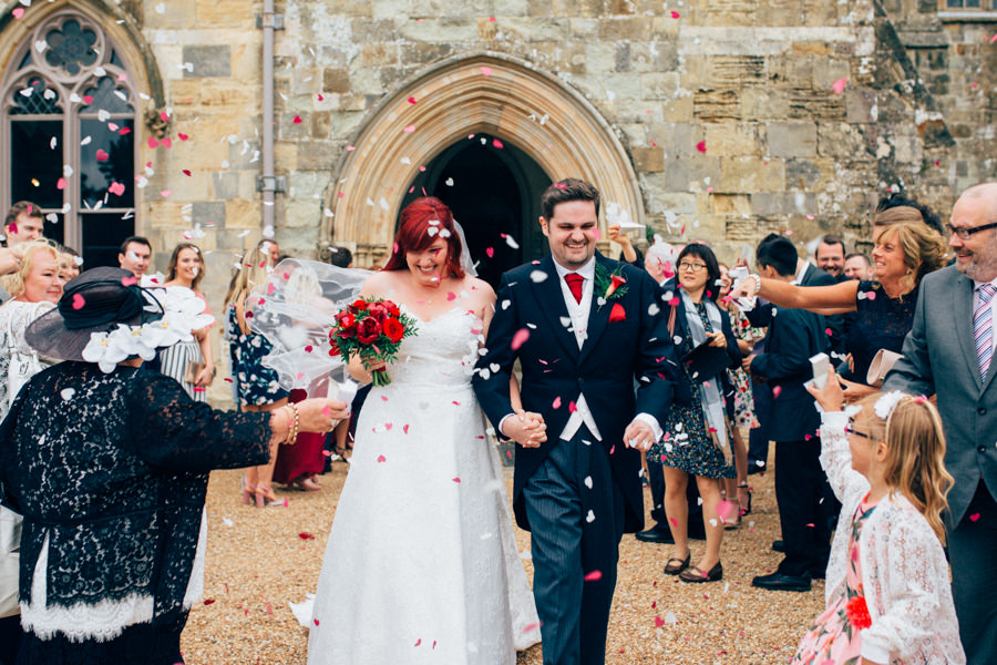A stunning wedding in Hastings with a gorgeous redhead bride, images by Nikki van der Molen (25)