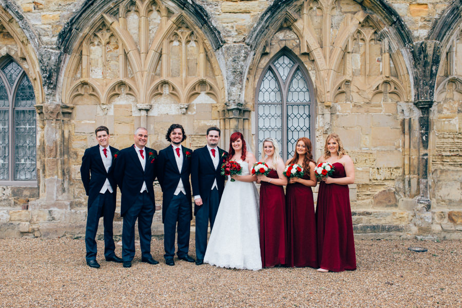 A stunning wedding in Hastings with a gorgeous redhead bride, images by Nikki van der Molen (27)
