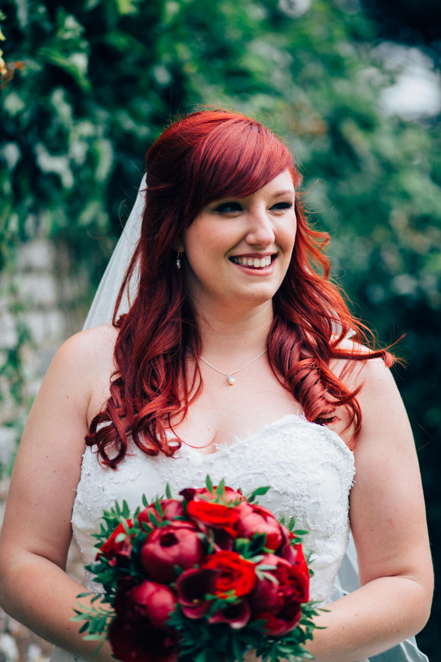 A stunning wedding in Hastings with a gorgeous redhead bride, images by Nikki van der Molen (30)