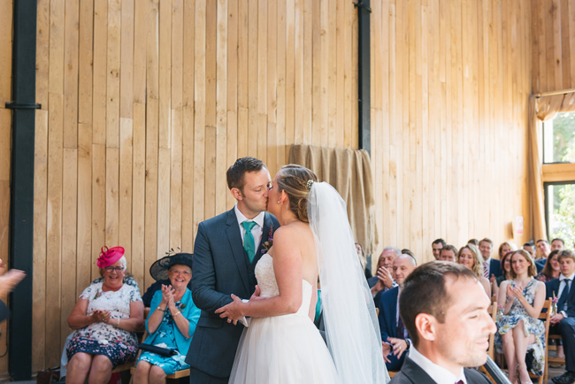 Pretty English barn wedding blog with Penny Young Photography (17)