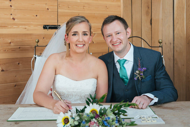 Pretty English barn wedding blog with Penny Young Photography (19)