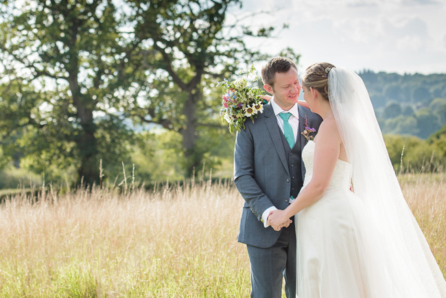 Pretty English barn wedding blog with Penny Young Photography (30)