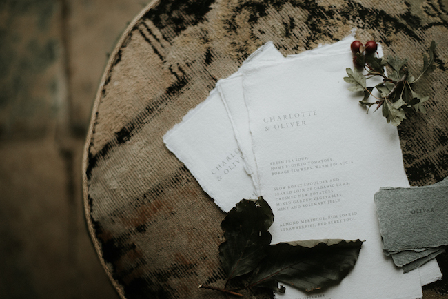 Organic and elegant autumnal wedding styling at River Cottage. Image credit Katy Jones Photography (27)