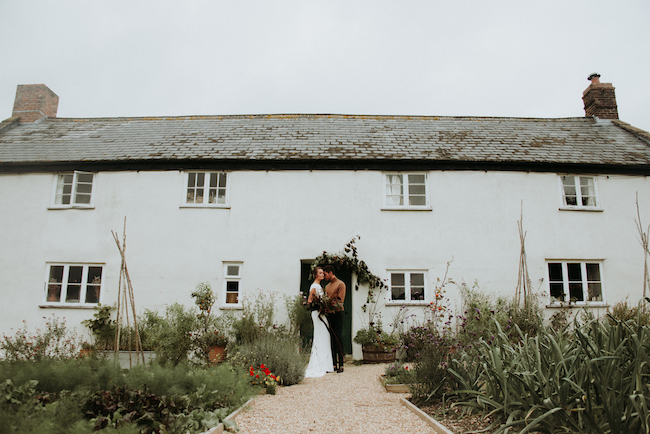 Organic and elegant autumnal wedding styling at River Cottage. Image credit Katy Jones Photography (5)