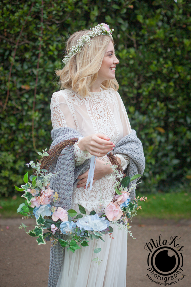 Dusty pink and blue wedding inspiration with Mila Kos on the English Wedding Blog (5)