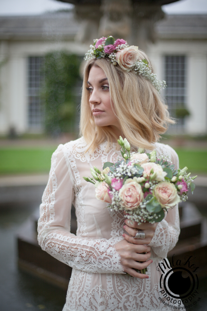 Dusty pink and blue wedding inspiration with Mila Kos on the English Wedding Blog (8)