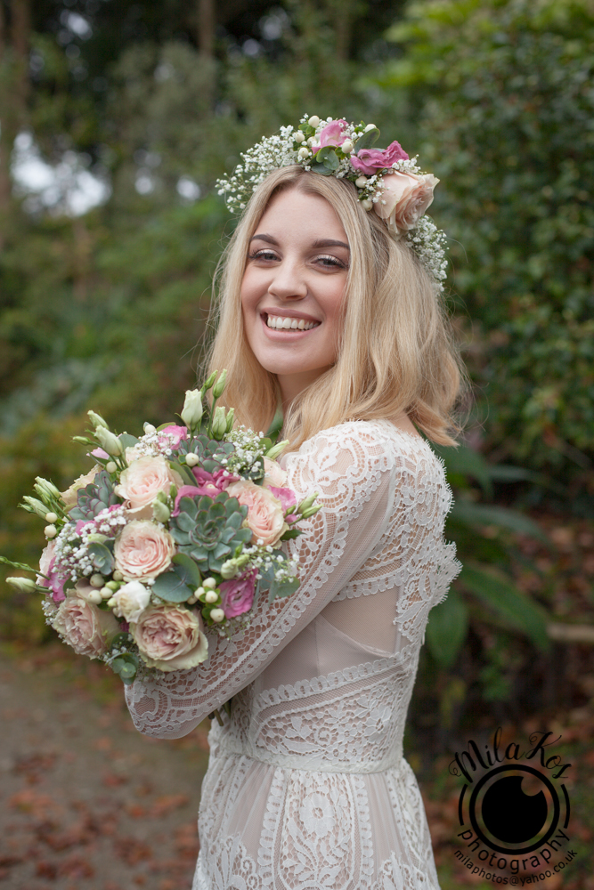 Dusty pink and blue wedding inspiration with Mila Kos on the English Wedding Blog (12)