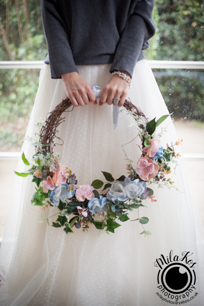 Dusty pink and blue wedding inspiration with Mila Kos on the English Wedding Blog (22)