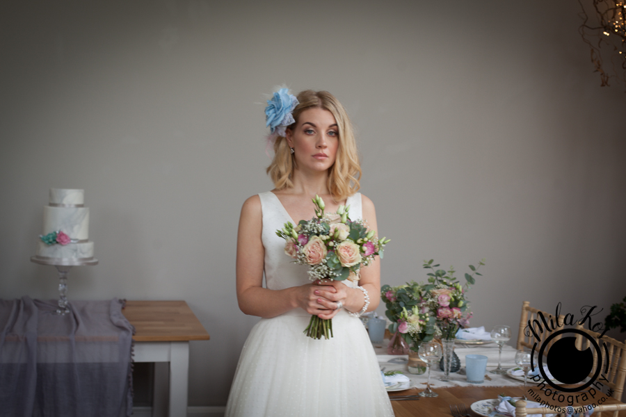 Dusty pink and blue wedding inspiration with Mila Kos on the English Wedding Blog (33)