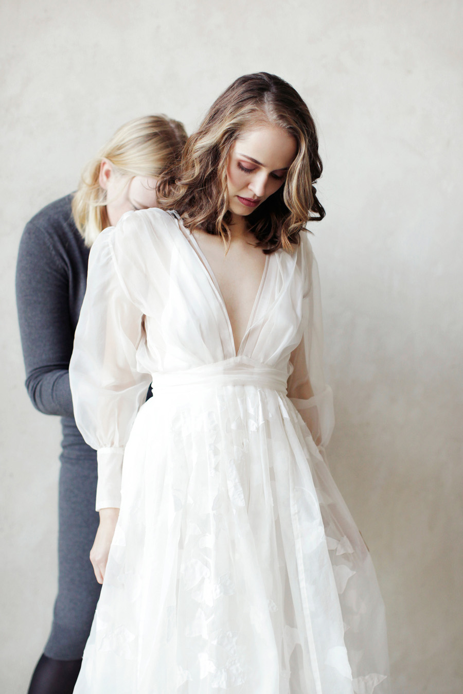 Advice on trying on wedding dresses, by Ailsa Munro on the English Wedding Blog (1)