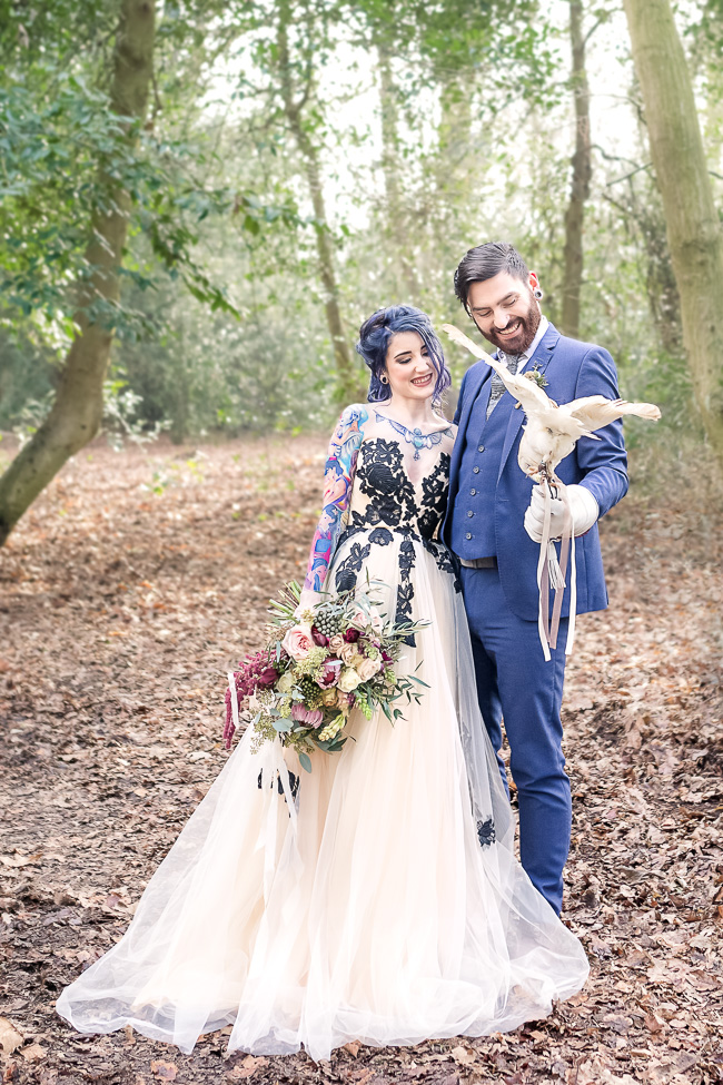 woodland wedding style with VeVi Photography (6)
