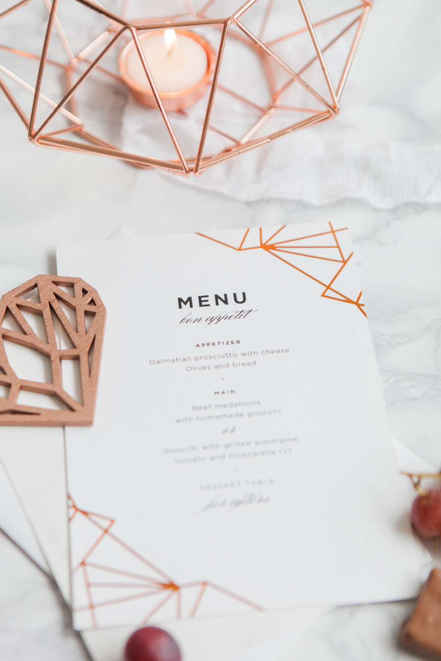 Copper metallic and succulent wedding style ideas, images by Amanda Karen Photography (35)