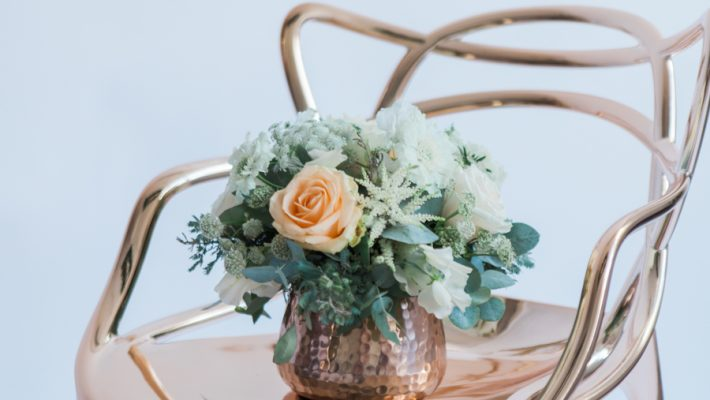 Copper metallic and succulent wedding style ideas, images by Amanda Karen Photography (5)
