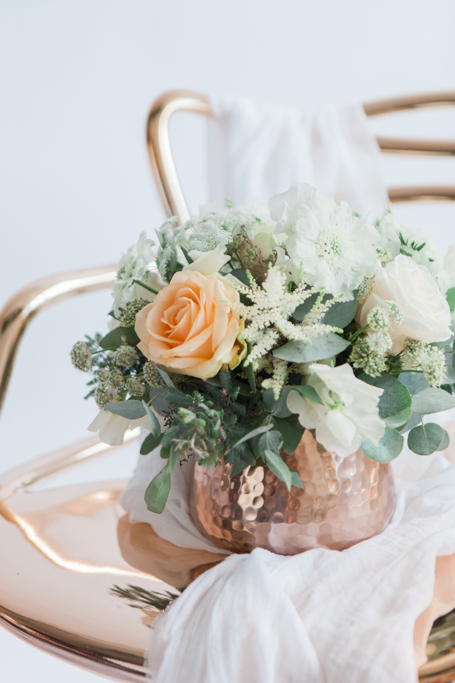 Copper metallic and succulent wedding style ideas, images by Amanda Karen Photography (3)