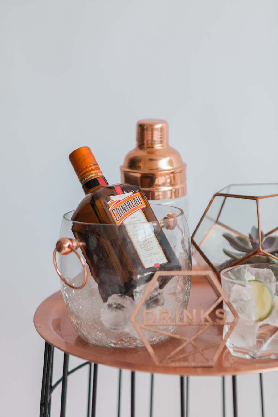 Copper metallic and succulent wedding style ideas, images by Amanda Karen Photography (2)