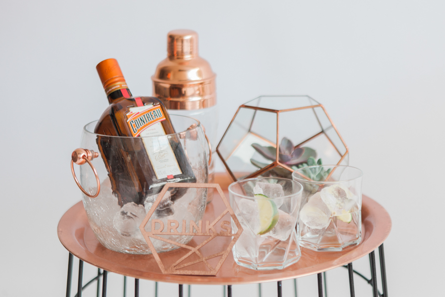 Copper metallic and succulent wedding style ideas, images by Amanda Karen Photography (1)