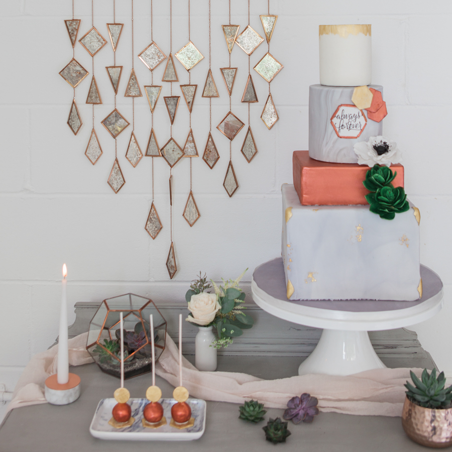 Copper metallic and succulent wedding style ideas, images by Amanda Karen Photography (24)
