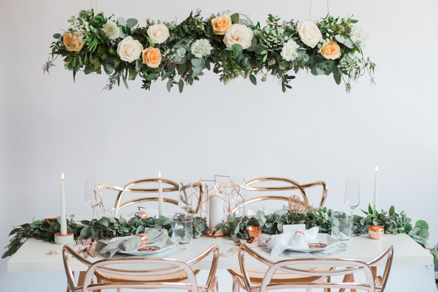 Copper metallic and succulent wedding style ideas, images by Amanda Karen Photography (21)