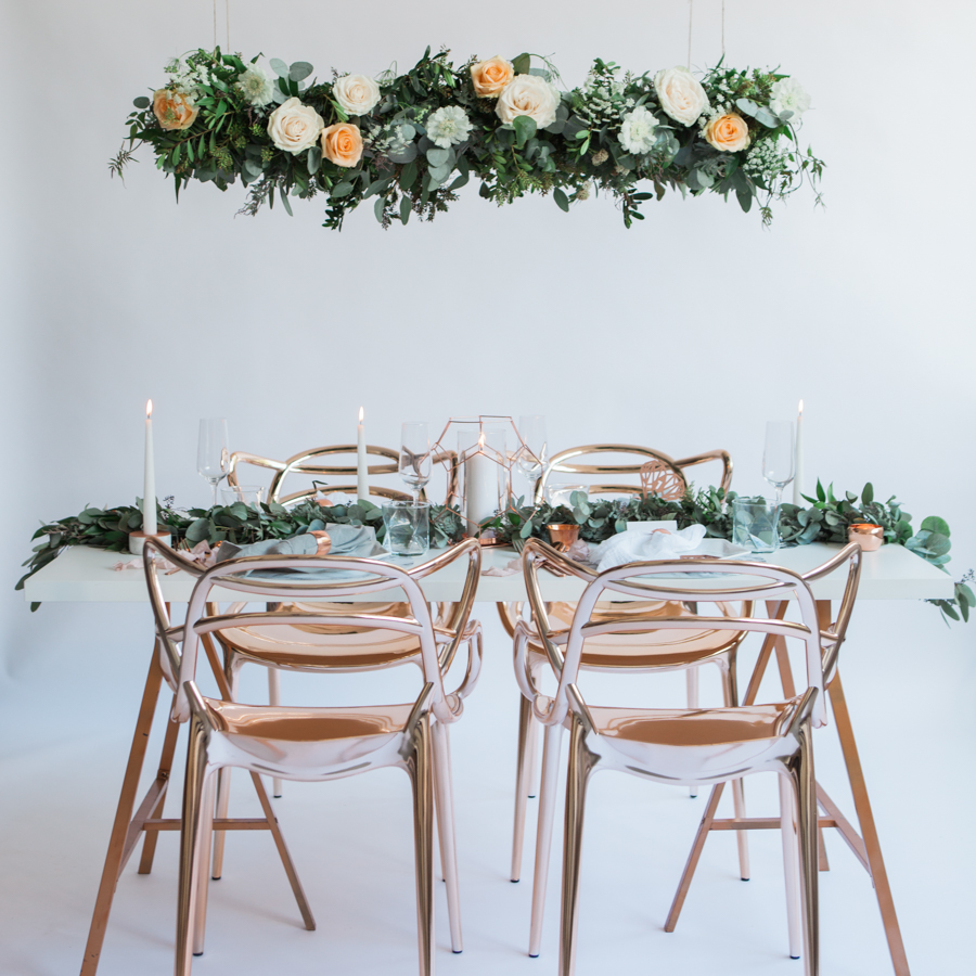 Copper metallic and succulent wedding style ideas, images by Amanda Karen Photography (20)