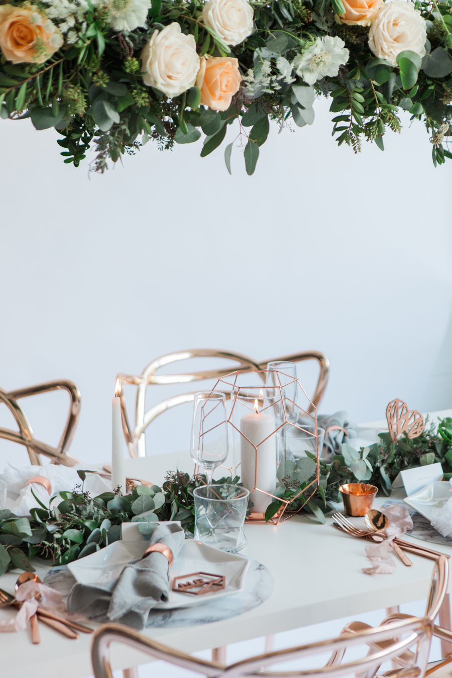 Copper metallic and succulent wedding style ideas, images by Amanda Karen Photography (16)