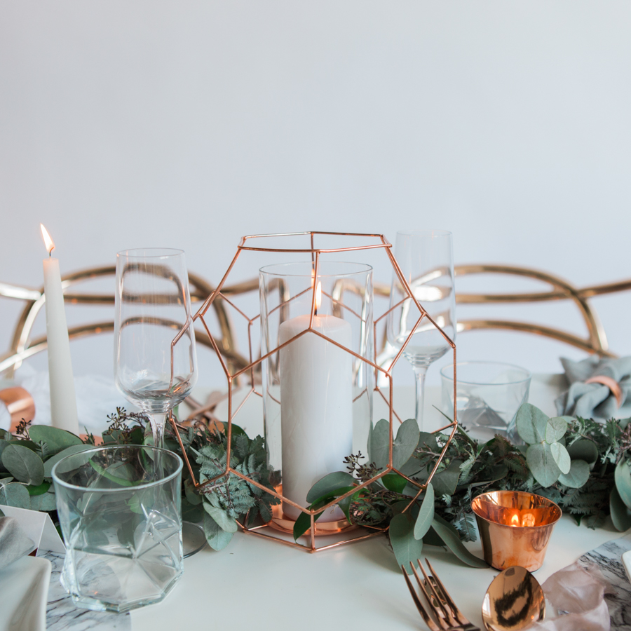Copper metallic and succulent wedding style ideas, images by Amanda Karen Photography (9)