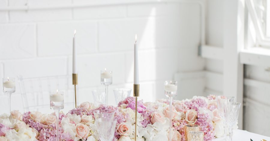 Blush gold feminine wedding styling, image credit Amanda Karen Photography (6)