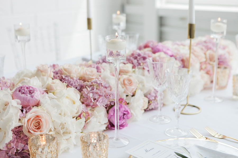 Blush gold feminine wedding styling, image credit Amanda Karen Photography (3)