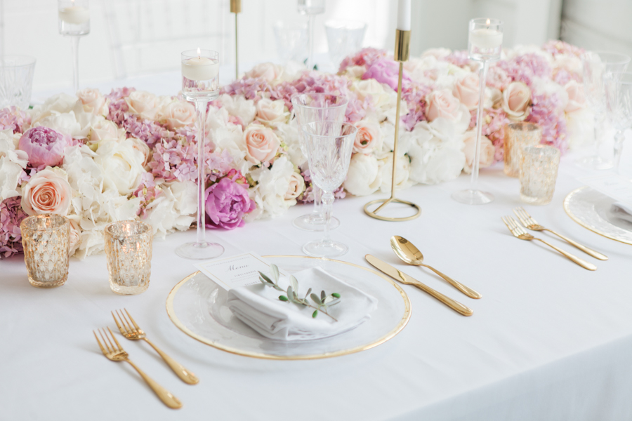 Blush gold feminine wedding styling, image credit Amanda Karen Photography (8)