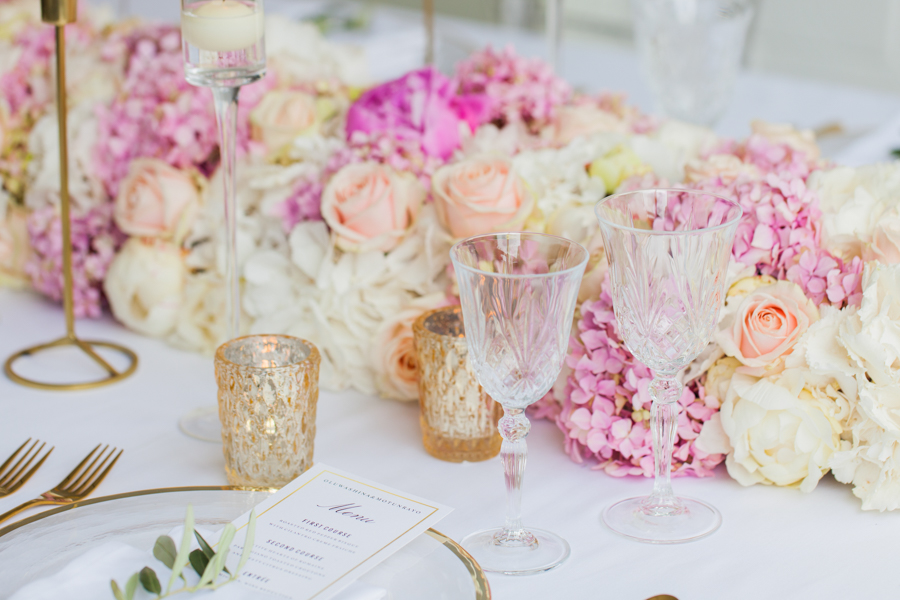 Blush gold feminine wedding styling, image credit Amanda Karen Photography (5)