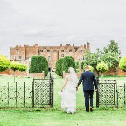 Yvette and Alan's sunflower-filled wedding at Glemham Hall, with Ayshea Goldberg Photography