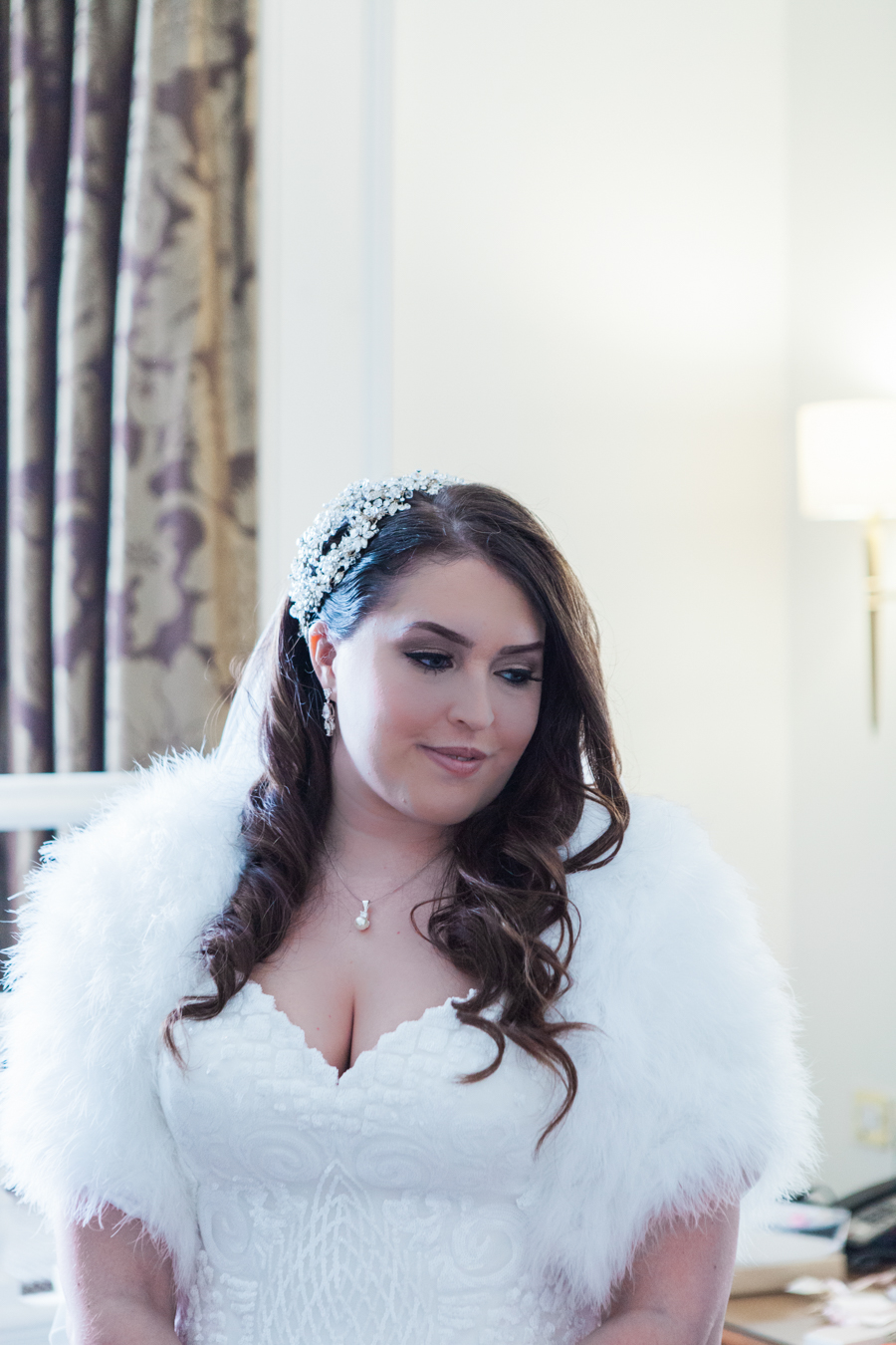 Hendon Hall winter art deco wedding, images by Amanda Karen Photography (7)
