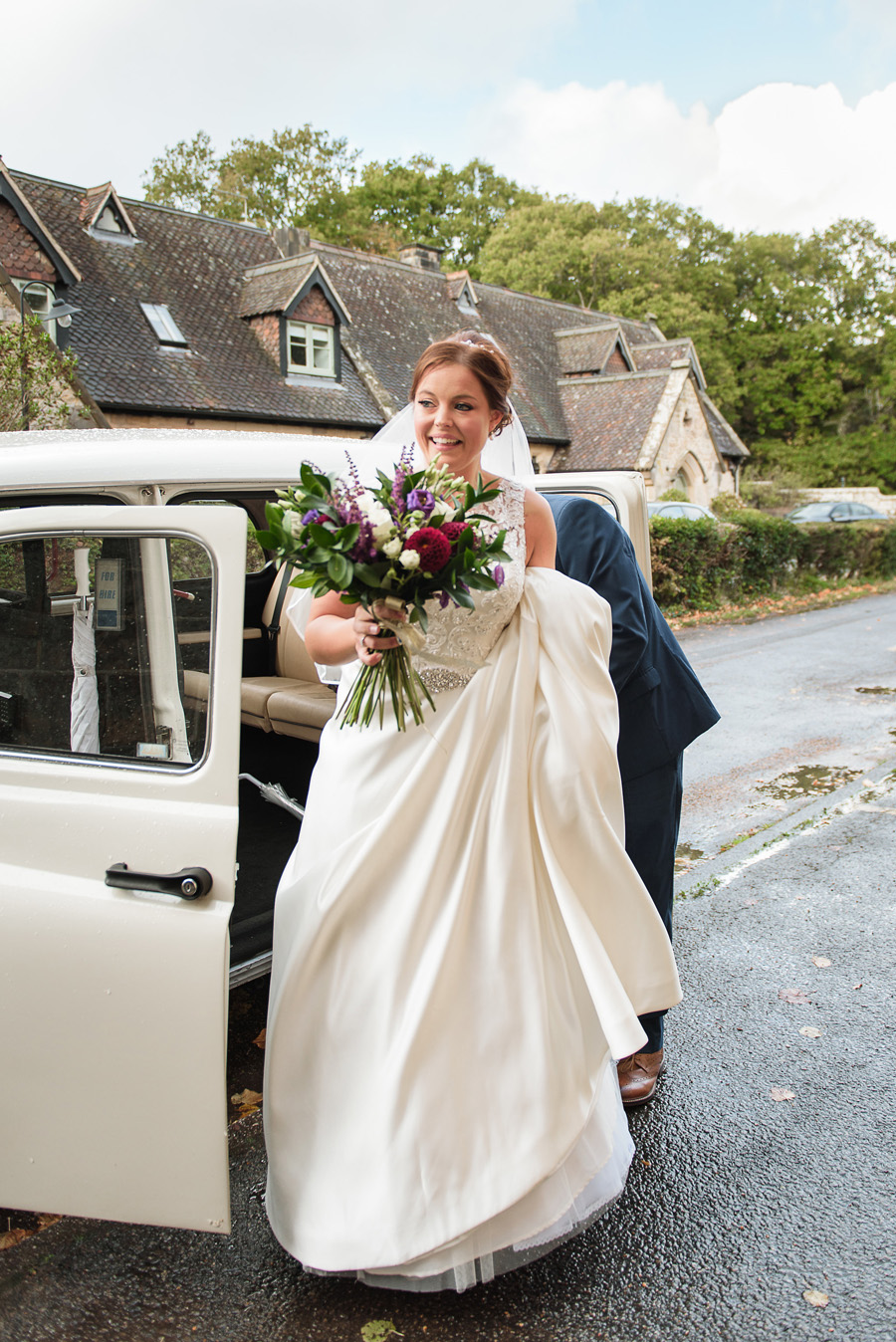 Stunning real wedding at Salomons Estate, images by Penny Young Photography (10)