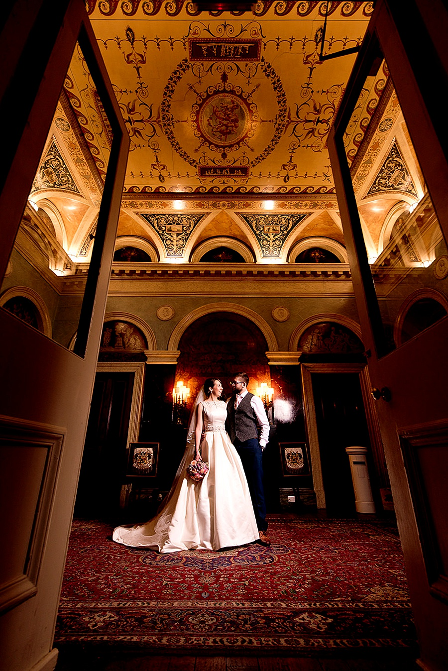 Prestwold Hall wedding in October, images by Matt Selby Photography (32)