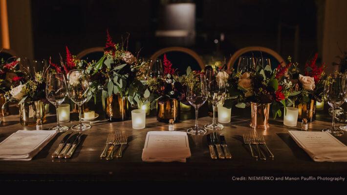 Luxury wedding planning by Niemierko, image credit Manon Pauffin Photography