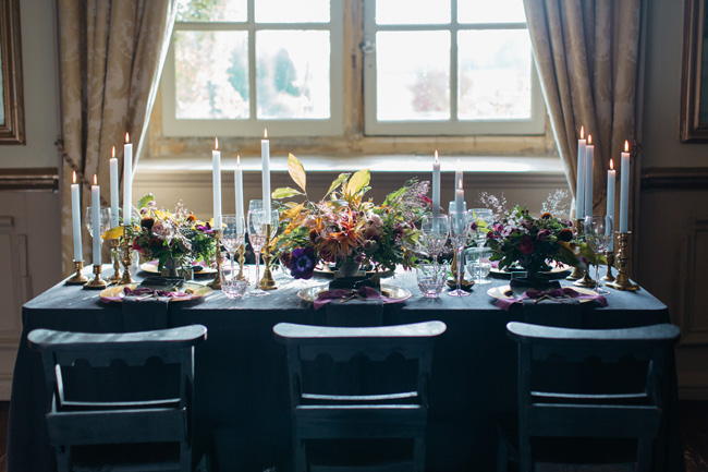 Dark wedding styling ideas for 2018 weddings, with Emma Barrow Photography (11)