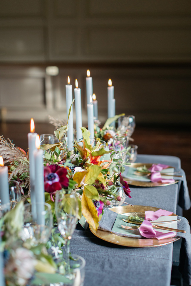 Dark wedding styling ideas for 2018 weddings, with Emma Barrow Photography (16)