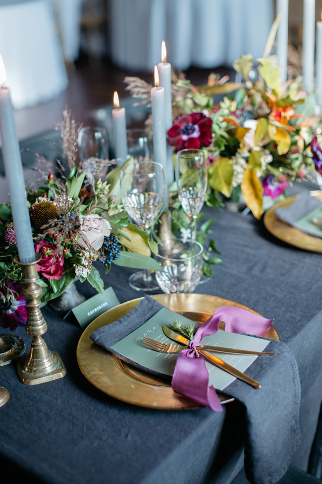Dark wedding styling ideas for 2018 weddings, with Emma Barrow Photography (18)