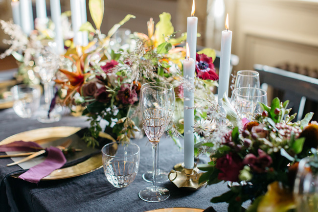 Dark wedding styling ideas for 2018 weddings, with Emma Barrow Photography (21)