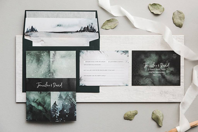 wedding invitation collections roundup the best for 2018 (10)